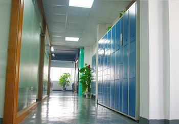 振耀科技公司走廊一角