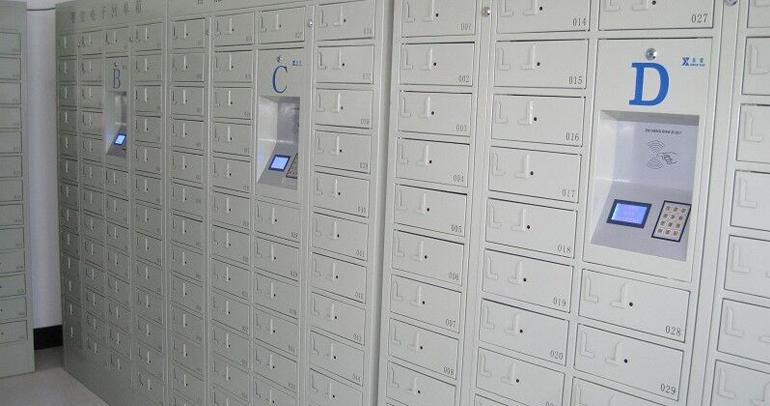天津蒙牛公司电子回单柜应用案例
