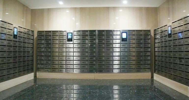 万科集团信报箱、便捷快递柜应用案例