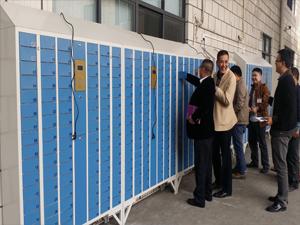 旺盈集团96门员工手机柜应用案例