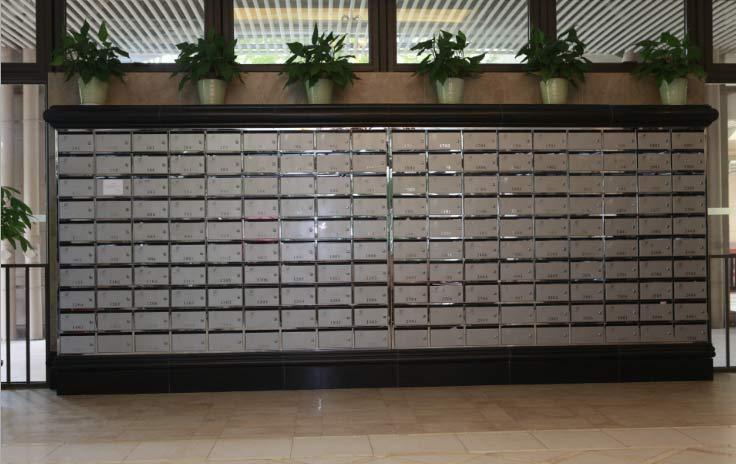 金融机构智能信报箱应用案例