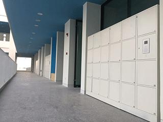 深圳湾学校储物柜应用案例