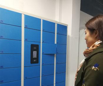 人脸识别员工储物柜