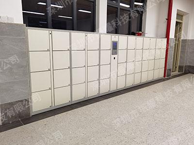 深圳第七高级中学智能书包柜应用