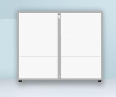 智能办公室指纹矮柜(蓝牙智能办公文件柜)