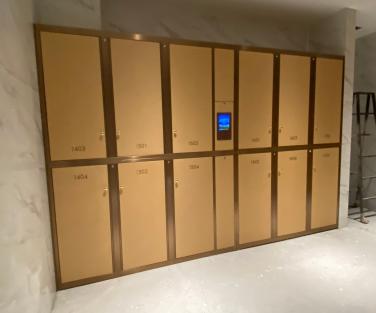 医院智能储物柜(带抽风除臭杀菌功能)