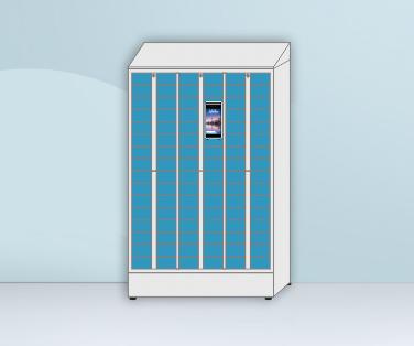 智能人脸识别手机柜(人脸识别型手机存储柜)