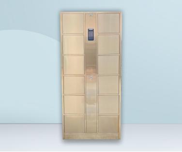 智能不锈钢更衣柜(不锈钢人脸识别储物柜)