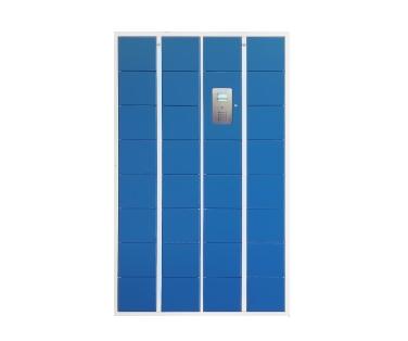30门智能员工储物柜(刷卡指纹智能储物柜)